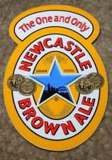 "NEWCASTLE BROWN ALE 3"" Classic Logo STICKER decal craft beer brewery brewing"
