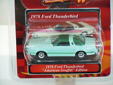 AMERICAN GRAFFITI 1978 FORD THUNDERBIRD 1:64 MotorMax VHTF Green _73600_MOMC NEW