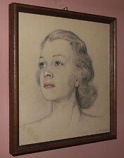 Carl Franz Bauer (Wien 1879-1954) Bildnis einer Jungen Frau 14.05.43.
