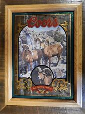 "Coors Nature Series #2 Bighorn Sheep, ""Limited Edition""  ""NEW"""