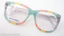 Bunte Brille Gestell Kunststoff mit Stoffeinlage große Form stabil fetzig Luxus