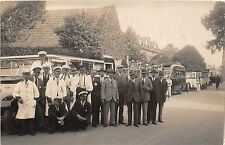 POSTCARD  SOCIAL  HISTORY SOMERSET  BRIDGWATER  Local  Brickyard  Workers Outing