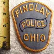 FINDLAY OHIO POLICE PATCH (HIGHWAY PATROL, SHERIFF, EMS, STATE)