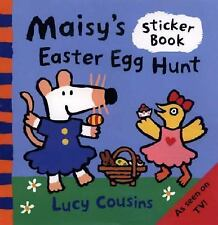 Maisy's Easter Egg Hunt: A Sticker Book Cousins, Lucy Paperback