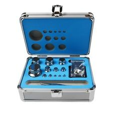 F1 Grade 1mg-500g Precision Stainless Steel Scale Calibration Weight Kit Set