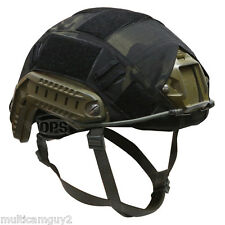 OPS/UR-TACTICAL HELMET COVER FOR OPS-CORE FAST HELMET IN CRYE MULTICAM BLACK-M/L