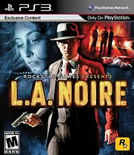 L.A. Noire Sony PlayStation 3 Brand New Factory Sealed Fast Shipping PS3
