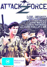 Attack Force Z NEW DVD Mel Gibson Sam Neill John Waters Chris Haywood war WWII