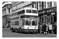 pt7677 - Portsmouth Corporation Bus no 207 at City Centre - photograph