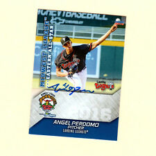 Angel Perdomo 2016 Midwest League All Star auto signed card Lansing Lugnuts