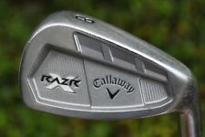 Callaway RAZR X FORGED 8 iron PROJECT X FLIGHTED 6.0 STEEL SHAFT razer