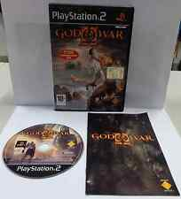 Console Gioco Game SONY Playstation 2 PS2 Play PAL ITALIANO GOD OF WAR II 2 ITA