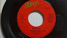 """AMAZULU - Montego Bay / Only Love REGGAE POP ELECTRO Mango 1986 (7"""")"""