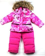 DIESEL Toddler Girl's 2PC Ski Set Pink Snow Suit Size-3T