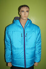 Stüssy THERMOLITE WINTERJACKE mit Kapuze hellblau Gr.L Stussy Authentic Gear