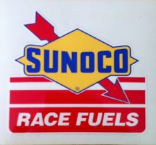 Vintage Sunoco Race Fuels Decal--Old School--Rat Rod--Nostalgia--Gas & Oil