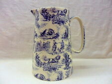 "Blue toile du joey design 4 pint pitcher. ""special offer"""