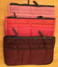 Buy 2 Get 1 Free Women Travel Insert Organizer Purse Large Liner Tidy Bag Pouch