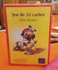 JEU DE 32 CARTES PUBLICITAIRE SERIE LIMITEE '' tour de france '' Efli - vintage