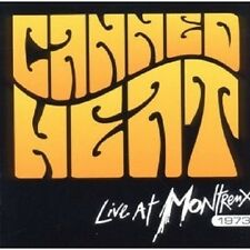 CANNED HEAT - LIVE AT MONTREUX 1973  CD NEUWARE