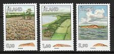 Finland / Aland - 1994 Rock formations Mi. 79-81 MNH