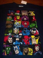 Marvel Comics VILLAINS HEROES T-Shirt 4XL XXXXL NEW Avengers Daredevil