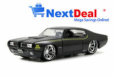 1969 Pontiac GTO Judge Black Jada 1:24 scale Diecast Model Car