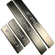 For Ford LED Light Illuminated Stainless Door Sill Protector Plate Entry Guard