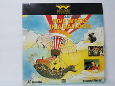 Jules Verne's Five Weeks In A Balloon Special Widescreen Edition Laserdisc Movie