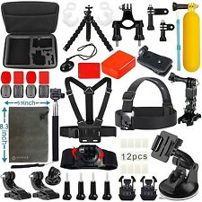 Vanwalk Accessories kit for GoPro Hero 5 4 3+ 3 2 1 Black Silver Action Camer...