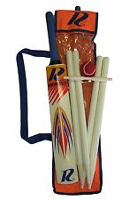 *NEW* Regent Wooden Size 5 Cricket Set - Stumps 61cm, Bat 78 cm & Ball
