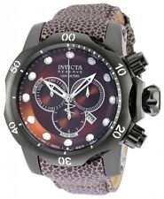 Invicta Venom Brown Sunray Dial Mens Chronograph Watch 18305