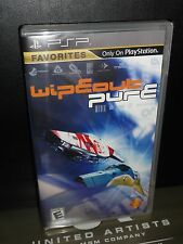 Wipeout Pure (Sony PSP) PlayStation Portable, BRAND NEW!