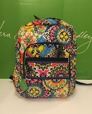 NWT Vera Bradley Large Campus Backpack in Rio