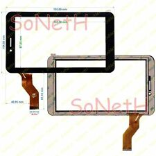 "Vetro Touch screen Digitizer 7,0"" FreeLander PD10 3G Nero"