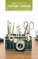 Artful Organizer: Vintage Camera : Stylish Storage for Your Pens, Pencils,...