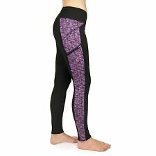Zobha The Outsider Active Legging Yoga Run Pant PINK BLACK Size Med MSRP $79 NWT