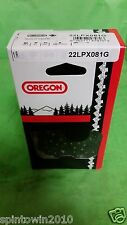 "OREGON 20"" CHAINSAW CHAIN 22LPX081G .325 .063 81DL"
