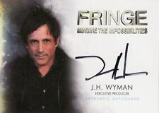 Fringe Season 1 & 2 J.H. Wyman / Executive Producer A15 Auto Card
