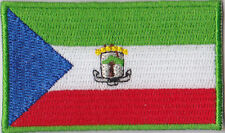 Equatorial Guinea Flag Embroidered Patch T4