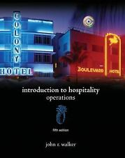 Introduction to Hospitality (5th Edition), John R. Walker, 0135139287, Book, Acc