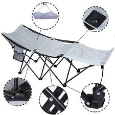 Portable Folding Camping Adventure Camp Bed Durable Hammock Sleeping Cot St