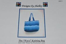 Designs by Shelley Knitting Pattern 9 The Wave Knitting Bag