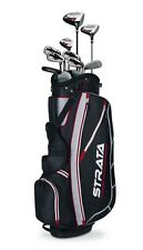 Callaway Mens Strata Complete Golf Club Set Left Handed 12 Pieces With Bag New