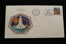 SPACE SHUTTLE COVER 1996 SLOGAN CANCEL STS-78 COLUMBIA LMS WITH INSERT (173)