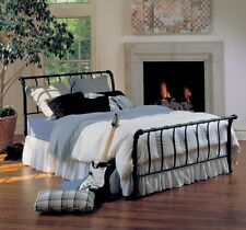 Hillsdale Janis Bed Set - King - w/Rails Textured Black 1671BKR Bed NEW