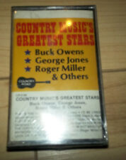 Country Music Greatest Stars Cassette SEALED