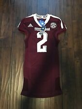NWT Adidas Texas A&M Authentic Game Jersey Johnny Football Manziel