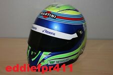 1/2 2016 FELIPE MASSA REPLICA MINI SCHUBERTH HELMET WILLIAMS FORMULA F1 NEW RARE