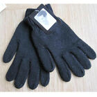 Lovely Men's Solid Color Knitted Gloves Thicken Thermal Wool Knitted Gloves